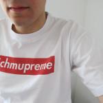 Uutta kevääksi: muodikas Schmupreme T-paita