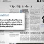 Avoin työhakemus sanomalehti Kalevalle