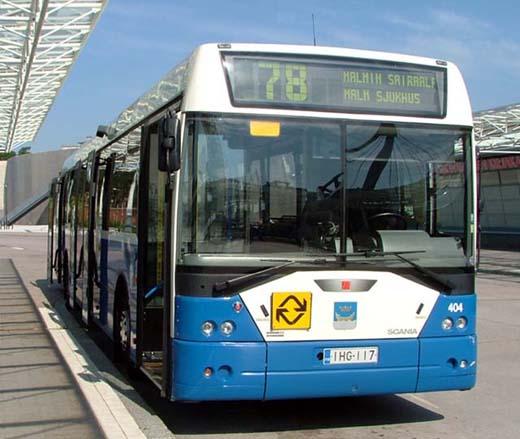HKL-bussi-78-Vuosaari