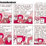 Sarjakuvakeskiviikko: Toimitusvaikeuksia