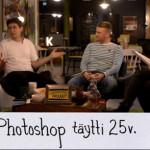 Onneksi olkoon Photoshop 25 vuotta