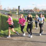 Paljastus: Naisten kymppi sittenkin vain kahdeksan kilometrin pituinen