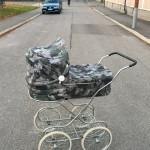 Vuoden vauvan vaunut myynnissä