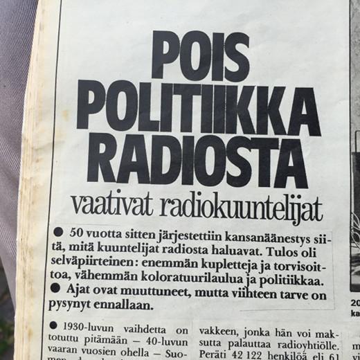 PolitiikkaPois