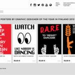 Vuoden graafikon 2013 julistekauppa avattu