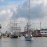 Turku onnistui onnistuneesti torjumaan isoilla purjelaivoilla maahantunkeutujat