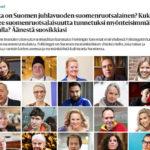 """Vuoden graafikko 2013 nyt ehdolla vuoden suomenruotsalaiseksi: """"Keitä nämä muut ehdokkaat ovat?"""""""