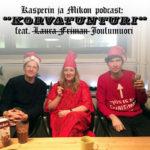 """Kasperin ja Mikon podcast Korvatunturilla: """"Voisiko Linnanmäen vuoristoradan vihdoinkin purkaa?"""""""