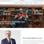Vuoden graafikko (2013) arvostelee presidenttiehdokkaiden nettisivut osa 6: Nils Torvalds