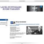 Vuoden graafikko (2013) arvostelee presidenttiehdokkaiden nettisivut osa 2: Laura Huhtasaari