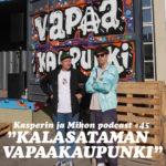Kasper ja Mikko Kalasataman vapaakaupungissa
