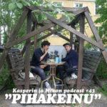 Kasperin ja Mikon podcast pihakeinussa