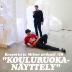 """Kasper ja Mikko kouluruokanäyttelyssä: """"Koe graafikon raivo"""""""
