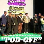 """Kasper ja Mikko Pod-off-kisassa: """"Tulimme voittamaan"""""""