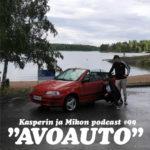 """Kasperin ja Mikon podcast avoautossa: """"Saari ilman aikavyöhykettä"""""""