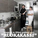 """Kasperin ja Mikon podcast tutustuu Ruokakassiin: """"Kokkaaminen on uusi rokkaaminen ja sauvasekoitin uusi sähkökitara"""""""