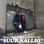 """Kasperin ja Mikon podcast Suur-Kalliossa: """"Komisario Mikko"""""""