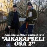 """Kasper ja Mikko kaivavat ylös aikakapselin: """"Suomalaisille sokeriveteraaneille"""""""