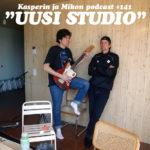 """Kasperin ja Mikon podcast uudessa studiossa: """"Nuoruuden ikärajaa on laskettu"""""""