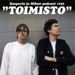 """Kasper ja Mikko toimistolla: """"Suomen virheettömin podcast"""""""
