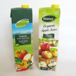 Vuoden graafikko tiedottaa: Lidl on uudistanut omenamehupakkauksensa