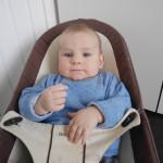 Vuoden vauva piristyy
