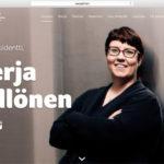 Vuoden graafikko (2013) arvostelee presidenttiehdokkaiden nettisivut osa 7: Merja Kyllönen