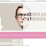 Vuoden graafikko (2013) arvostelee presidenttiehdokkaiden nettisivut osa 5: Matti Vanhanen