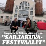"""Kasperin ja Mikon podcast sarjakuvafestivaaleilla: """"Opas intohimoon ja nautintoon"""""""