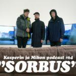 """Kasper ja Mikko Sorbus-galleriassa: """"Miespoddaajilla on niin helppoa"""""""