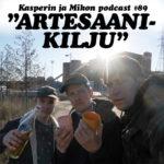 """Kasperin ja Mikon podcast artesaanikiljun lumoissa: """"Ehdotan automaattia josta saa Teemu Selänteen käytettyjä pelipaitoja"""""""