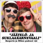 """Kasperin ja Mikon podcast Jäätelö- ja suklaakarnevaaleilla: """"Esteettömyysratsastus on tulevaisuuden urheilulaji"""""""