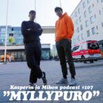 """Kasperin ja Mikon podcast Myllypurossa: """"Kasper och Mikael på Dramaten"""""""