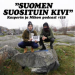 """Kasperin ja Mikon podcast Suomen suosituimmalla kivellä: """"Podkivemme koordinaatit ovat 60.1922° N, 24.9574° E"""""""