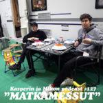"""Kasperin ja Mikon podcast Matkamessuilla: """"Olemme bloggaava perhe"""""""
