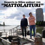 """Kasper ja Mikko mattolaiturilla: """"Aika cool kaara"""""""